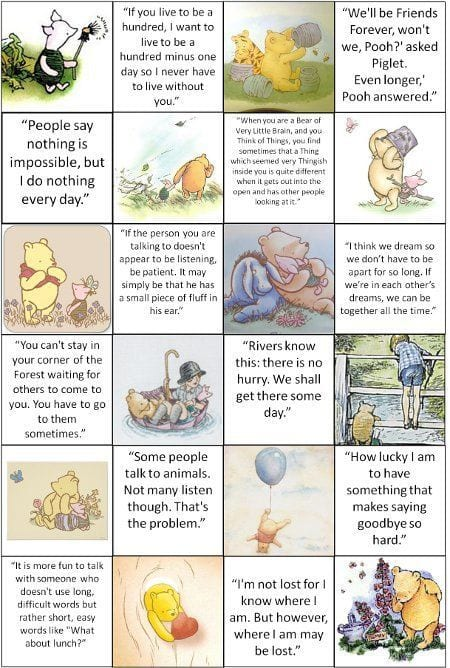 Heartwarming Winnie The Pooh Quotes - Enchanted Little World